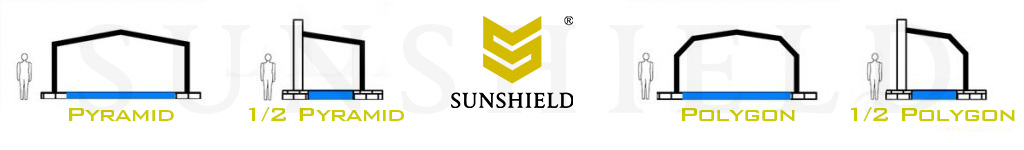 Sunshield sunhouse swimming pool enclosure for sale - retractable customized sunhouse solution