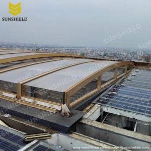 Clearsky Public Pool - Event Space Cover - Shopping mall enclosures - Sunshield