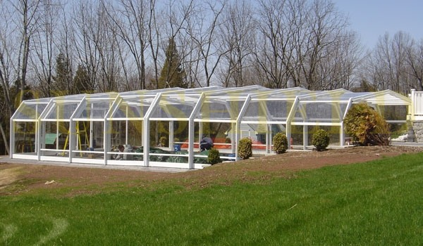 Greenhouse - Conservatory - Large Sunroom - Polycarbonate Sunroom - flower garden sunhouse - Sunshield Shelter_Jc