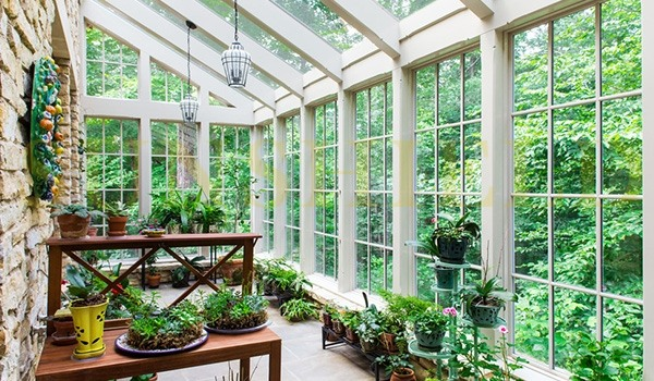 Home Greenhouse - Conservatory - Garden Greehouse - Sunroom Decor - Sunshield Shelter