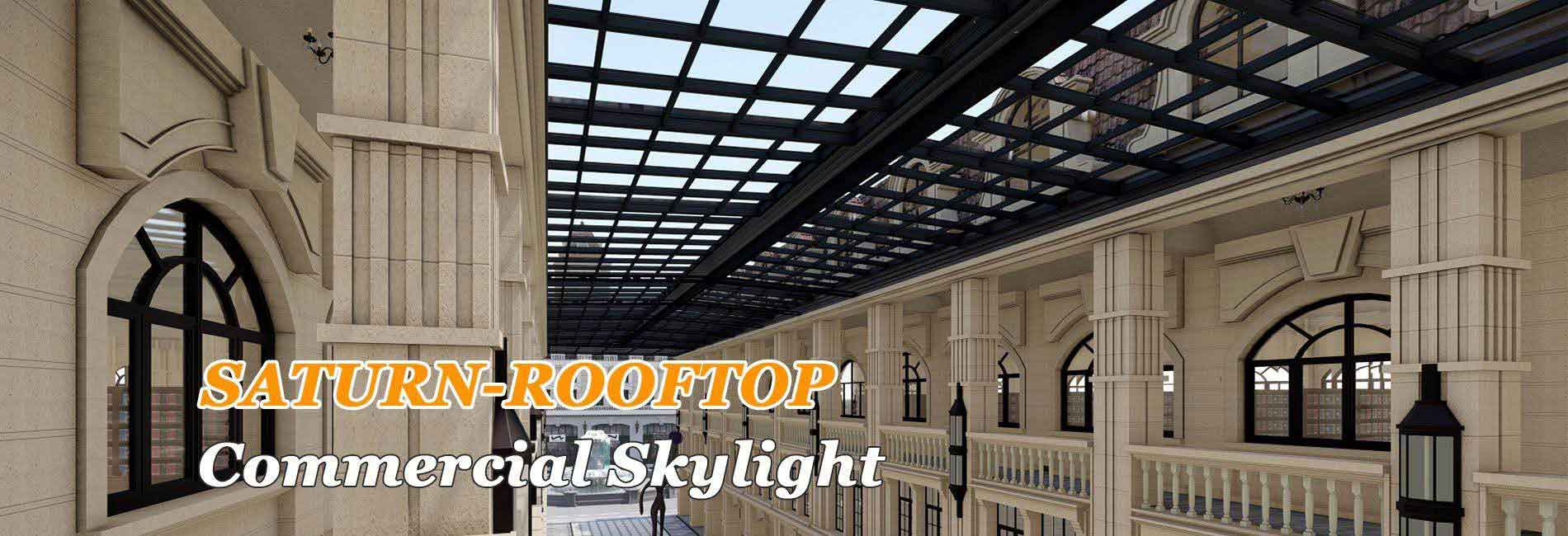 SHELTER SUNROOM-Saturn rooftop skylight enclosures-retractable skylight
