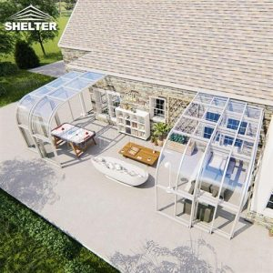 Insulated Sunroom Extension patio enclosures (1)