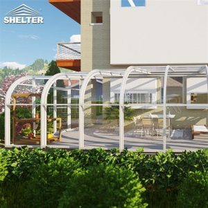 Lean to Sunroom patio enclosures backyard sunroom