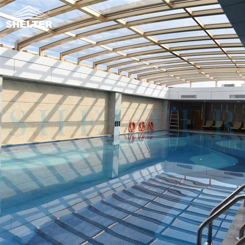 skylight-rooftop skylight enclosures-Hotel pool enclosures-Retractable Pool Covers-Shelter (1)