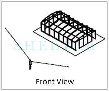 shelter freestanding patio enclosure measuring7