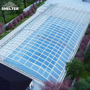 Retaractable Skylight - Sunroom Design- Commercial Skylight