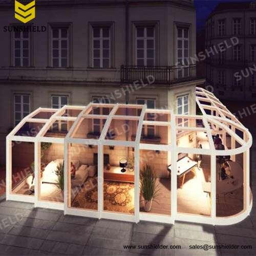Tea House Enclosure - Restaurant & Cafe Enclosure - Pop -up Store Enclosure-Sunshield
