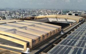 Greenhouse Enclosure - Conservatory - Retractable Polycarbonate Enclosure -Sunshield Shelter