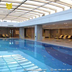 Retractable Swimming Pool Enclosures - Telescopic Pool Enclosure - Sky Pool - Awesome Rooftop Pool Enclosure-Sunroom -Sunshield Enclosure (1)