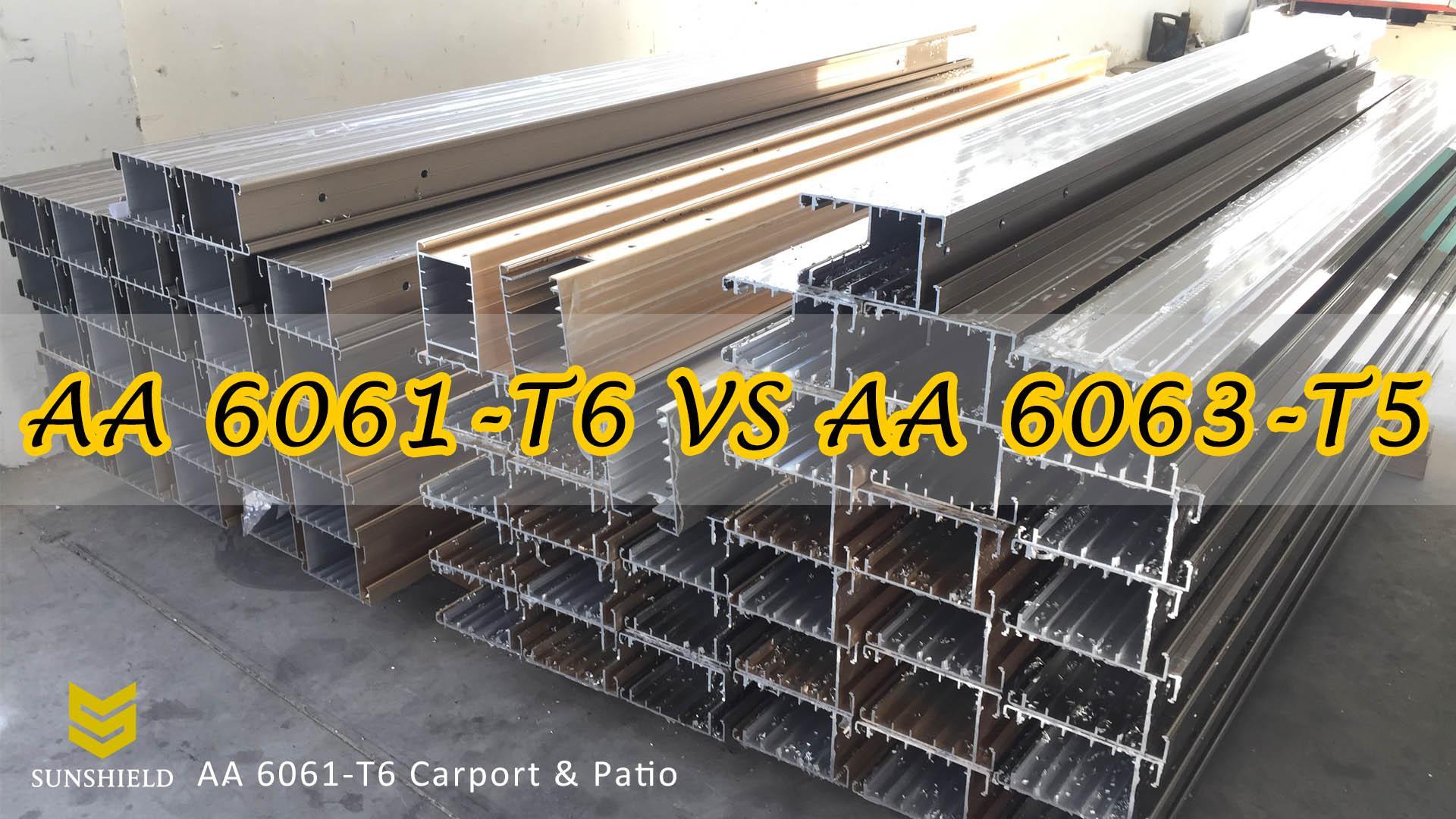 AA 6061-T6 VS AA 6063-T5 - Aluminum Alloy Frames - Aluminum Alloy 6061-T6 - Aluminum Alloy 6063-T5-Sunshield Shelter