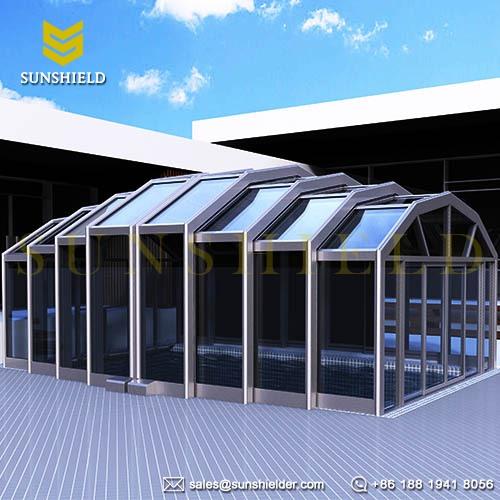 Restaurant Patio Enclosures Outdoor Cafe Enclosure Sunshield