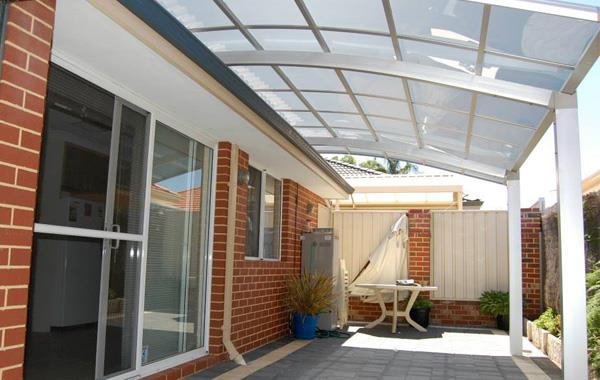 Patio Cover - Porch Awning - Aluminum Alloy Shelter-Polycarbonate Cover - Home Outdoor Awning -Sunshield Shelter