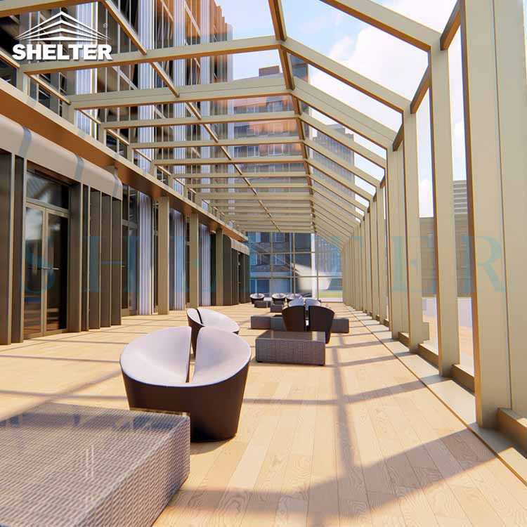 Retractable Rooftop Enclosure-Sunshield-Shelter-3