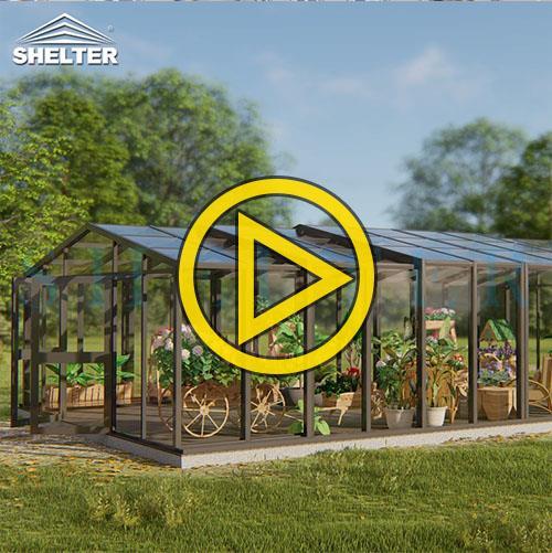 Greenhouse Sunroom-Mars winter gardens conservatory
