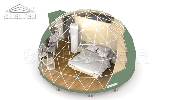 Perspective View of Starry Dome Igloo