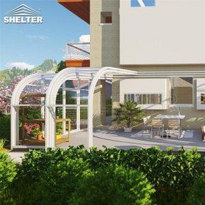 Lean to Sunroom patio enclosures backyard sunroom