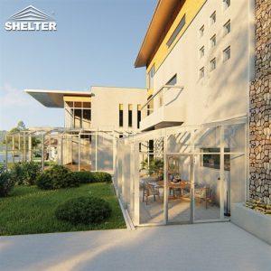 sunshield retractable patio enclosure small sunroom lean to sunroom price (3)