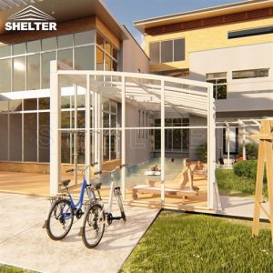 sunshield retractable patio enclosure small sunroom lean to sunroom price (3)